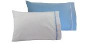 Toddler Pillowcases 13x18 - Set of 2 Units - Soft Cotton - Machine Washable