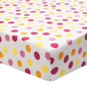 Sunshine Polka Dot Fitted Sheet - different from sheets in set