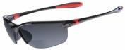 Dual - SL2 Sunglasses +2.0 Power Magnification, Black Frame/Grey Lens