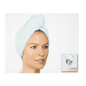 Perfect Solutions Super Absorbent Microfiber Head Turban - White