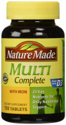 Nature Made Multi Complete with Iron, 130 Tablets