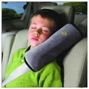 Calcifer Children Kids High Quality Suede Soft Neck Support Pillow Headrest Shoulder Pad For Car Seat Belts