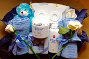 Luxury Blue Baby boy Essentials Hamper