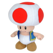 Super Mario 24 cm Bros Officially Licenced Nintendo Toad Plush Toy
