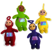 "TELETUBBIES Complete Set 4 Different PLUSHIES 50cm 20"" BIG Original"