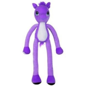 Stretchkins Purple Pony Soft Toy.