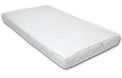 Best For Kids 60 x 120 x 11 cm 100% Polycotton Quilted and Soft Kid's roll mattress with TÜV CERTIFICATE