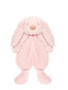 Teddykompaniet - Lolli Bunny Pink Security Blanket - 26cm