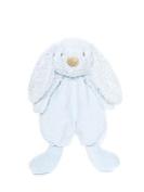 Teddykompaniet - Lolli Bunny Blue Security Blanket - 26cm