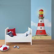 Wandpiraten Lighthouse Mural Wallpaper