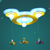 LED Mouse Head Kid's Room Ceiling Light Cute Girl Boy Room Ceiling Lamp Baby Room Ceiling Lamp