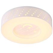 50cm Cute Star Kid's Room Ceiling Lamp Creative LED Acrylic Bedroom Ceiling Lamps Girl's Room Ceiling Lights