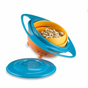AOHONG Gyro Bowl Spill Resistant Kids Gyroscopic Bowl with Lid