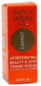 Soft'n White Carrot Intense Even Tone Beauty & Spot Toning Serum 30ml - ELYSEESTAR - With carrot extract & vitamins