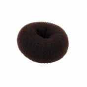 Small Brown Hair Bun Shaper Former Donut Ring Styler