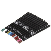 MicroMall(TM) Cosmetic Makeup Set 12 Colours Eyeliner Pen Eye Shadow Pen Lip Liner Pencil by Mefeir