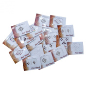 Banithani Pack of 18 Multicolour Different Bindi Indian Traditional Forehead Tattoo Sticker