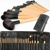 Nestling®New 24 Pcs Professional Make up Brush Set foundation Blusher Kabuki Brushes Set