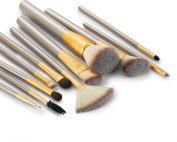 LEADO Makeup Brushes 12PCS Professional Cosmetics Makeup Brush Set with Make Up Brush Pouch