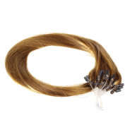 Just Beautiful Hair and Cosmetics, 25 Remy Loop Hair Extensions 0.5 g , 50 cm with Micro-Rings