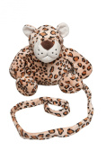 Animal Planet 2-in-1 Harness Backpack - Leopard - beige/black, one size