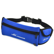 Volador Sports Waist Bag Waterproof Neoprene Travel Sport Waist Bag for Iphone Android Phone and Gadget Organiser with Earphone Hole