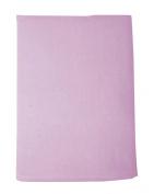 Lullaby Dreams Flannelette Cot Sheet Set Plain Pink