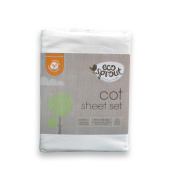 Eco Sprout Organic Cot Sheet Set