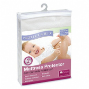 Protect A Bed Terry Fitted Cotton Mattress Protector