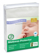 Protect A Bed Bamboo Jersey Fitted Bassinette Mattress Protector