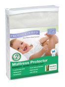 Protect A Bed Bamboo Jersey Fitted Cot Mattress Protector