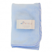 Marlborough Junior Coral Fleece Blanket Blue