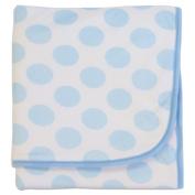 Bubba Blue Polka Dot Cuddle Blanket Blue