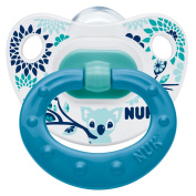 NUK Classic Happy Days Silicone Soother Green Size 2