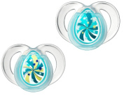 Closer to Nature Nite Time Soother Swirls 6-18m 2 Pack