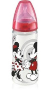 NUK Micky Mouse Polyprop 300ml Bottle Red