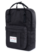 [HotStyle Basic Classic] Bestie Cute Nappy Bag Backpack for Mom (18 Litres), Black