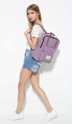 [HotStyle Basic Classic] Bestie Cute Nappy Bag Backpack for Mom (18 Litres), Purple