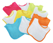Babyco 10 Pack 2 Ply Bib Girl