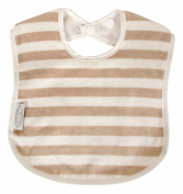 Silly Billyz Organic Stripe Large Bib Milk