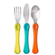 Closer To Nature First Grown Up Cutlery Set Blue Assorted