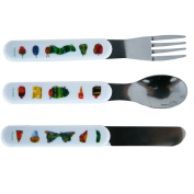 The Very Hungry Caterpillar 3 Piece Cutlery Set