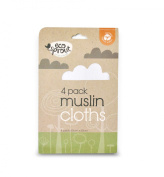 Eco Sprout Organic Muslin Cloths 4 Pack