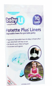 Baby U Pottette Plus Liners 10 Pack