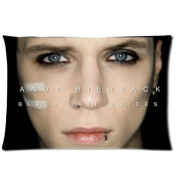 Simple & Easy Home Decoration Custom Black Veil Brides Printed Pillow Cover 20*30 Two Sides XZ-100
