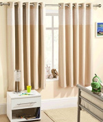 Ready Made Eyelet Thermal Blackout Curtains with Gingham Cheque Detail Panel. Colour and Size