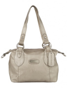 Boston & Bailey Two-Tone Tipped Shopper Bag