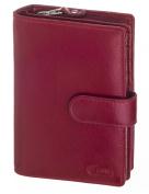 Carte Cowhide Medium Tab Wallet, Black