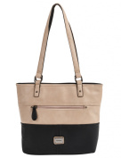 Pronta Moda Medium Colour Block Tote