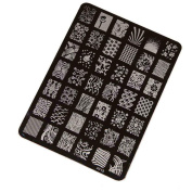 Koly® DIY Nail Stamping Printing Plate Manicure Nail Art Decor Image Stamps Plate